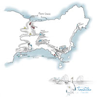 Map - Fontelina Capri