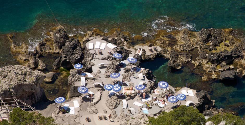 Fontelina Capri Beach Club With Restaurant Capri Italy
