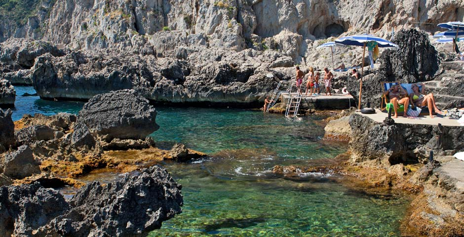 Capri Island Weather In April